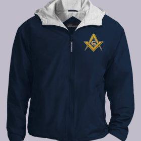 Freemasonry navy jacket featured