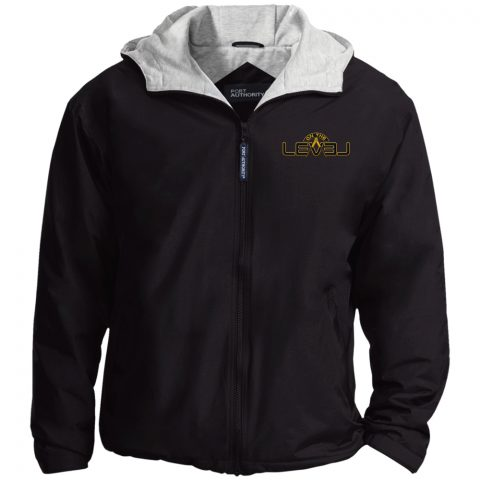 On The Level Embroidery Masonic Jacket OTL black jacket