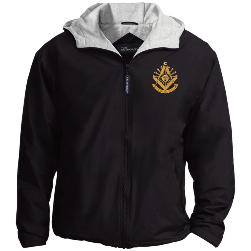 Past Master Embroidered Jacket Black