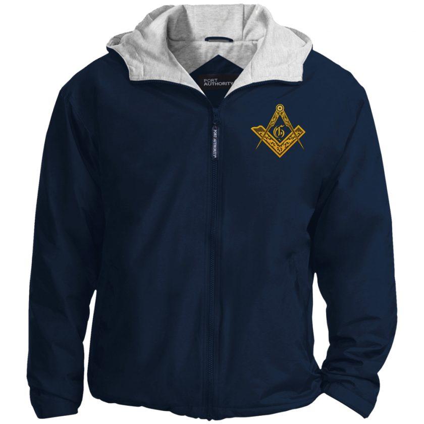 Vintage Masonic Emblem navy jacket