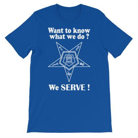 We SERVE T-Shirt mockup 194b159b