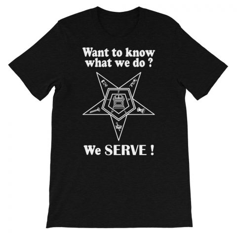 We SERVE T-Shirt mockup 5001f2e6