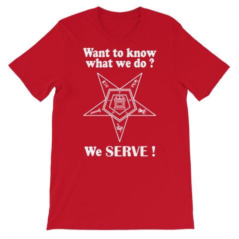 We SERVE T-Shirt mockup 5f7ad811