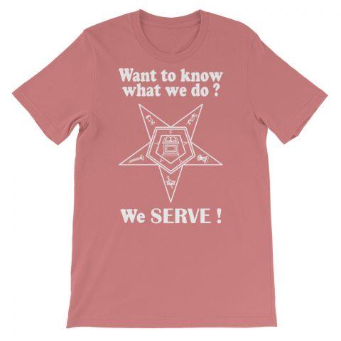 We SERVE T-Shirt mockup 8c5f89f2