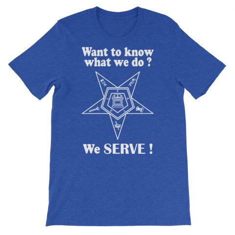 We SERVE T-Shirt mockup a2144a7f