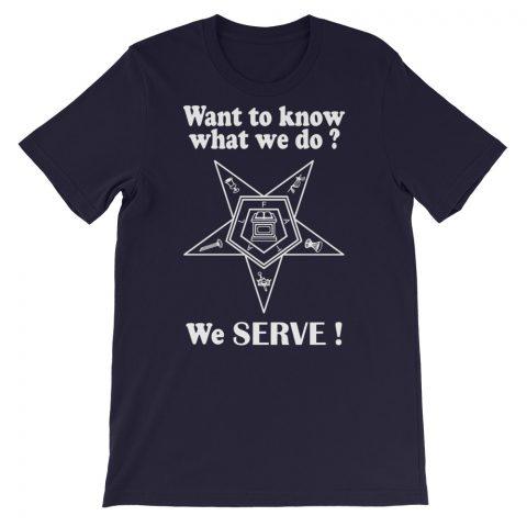 We SERVE T-Shirt mockup b12c1986
