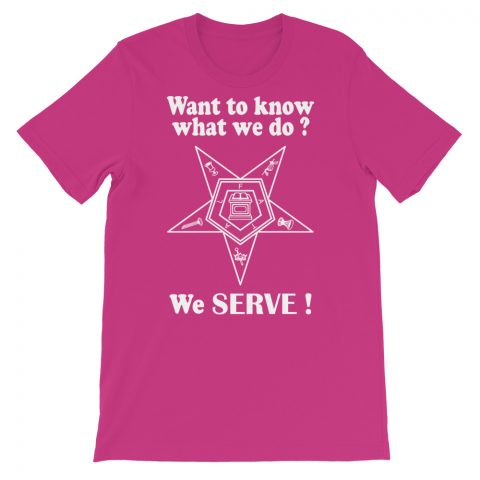 We SERVE T-Shirt mockup e2db7319