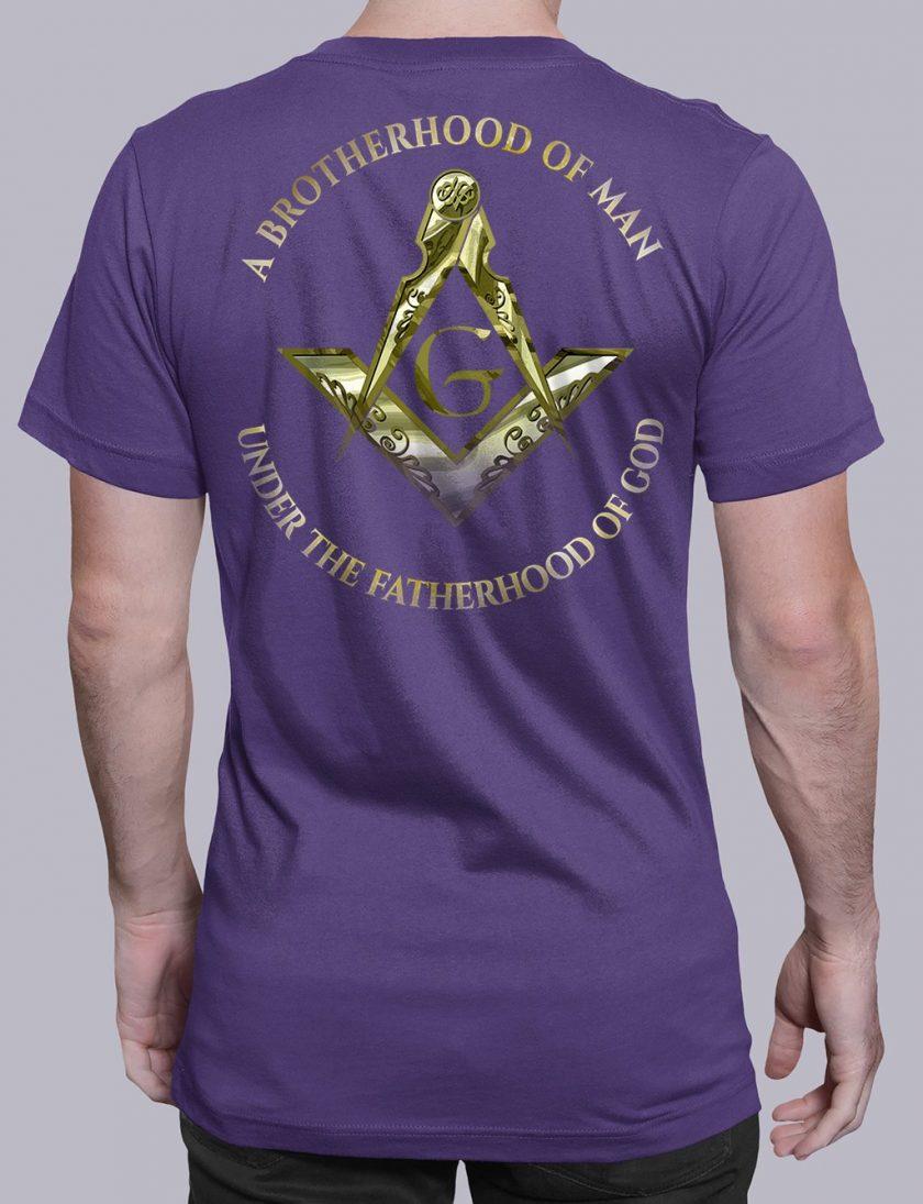 A Brotherhood Of Man 2 back purple shirt back 14