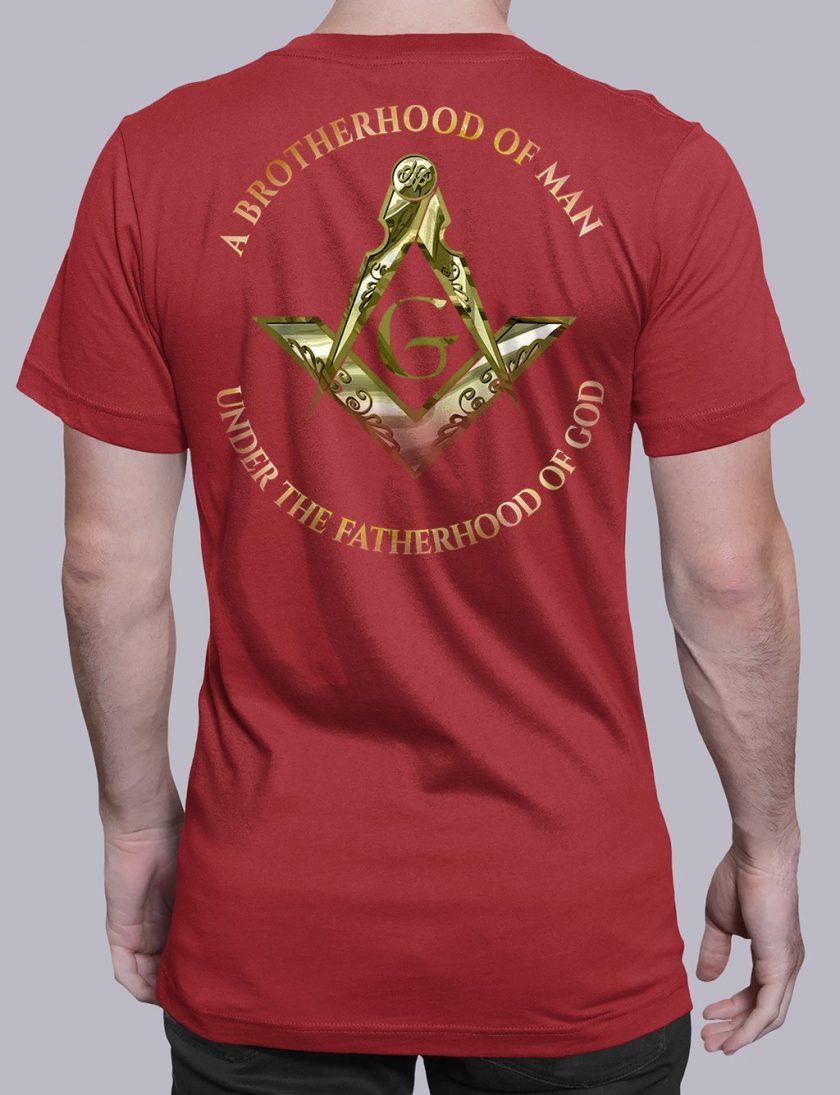 A Brotherhood Of Man 2 back red shirt back 14
