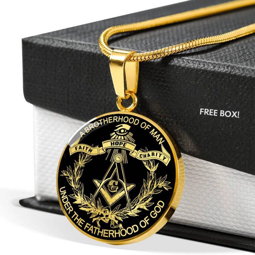 Brotherhood Masonic Necklace 2