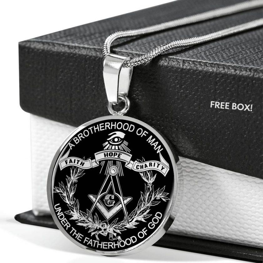 Brotherhood Masonic Necklace 3