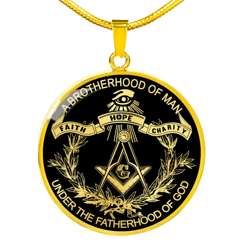 Brotherhood Masonic Necklace