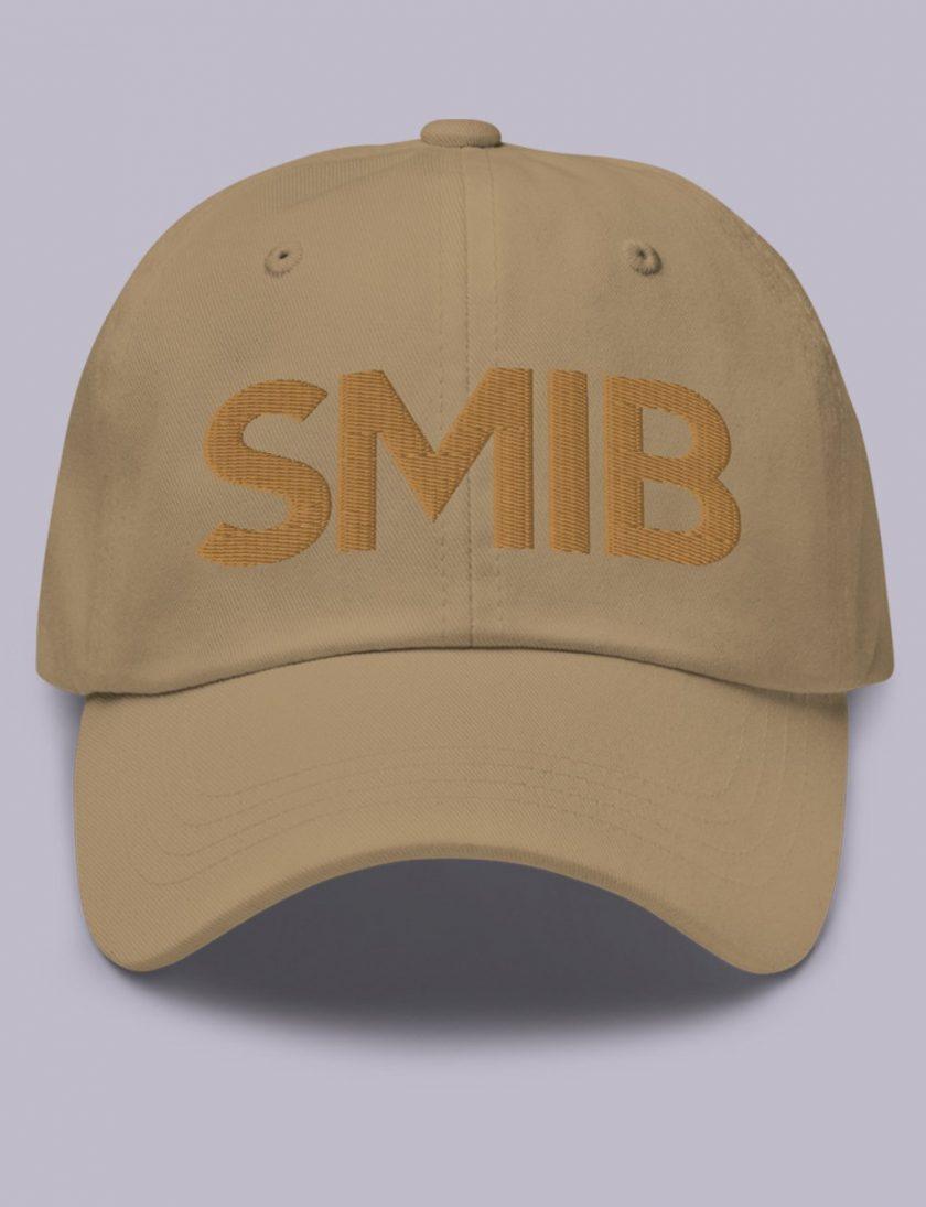 Embroidery SMIB masonic hat Khaki
