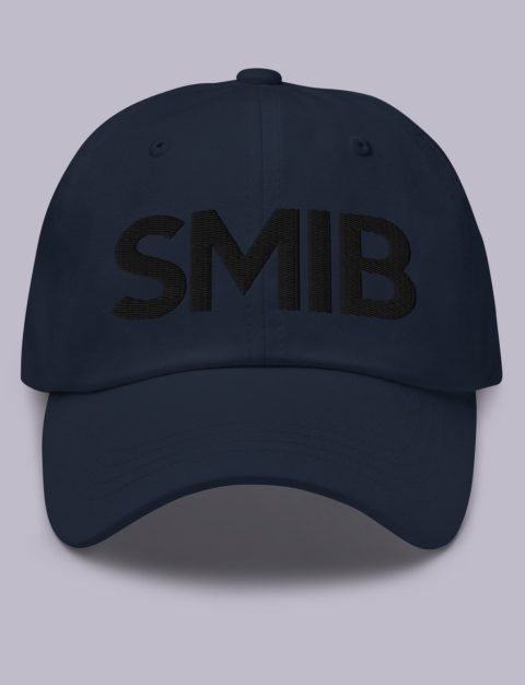 SMIB Masonic Hat Black Embroidery Embroidery SMIB masonic hat Navy black