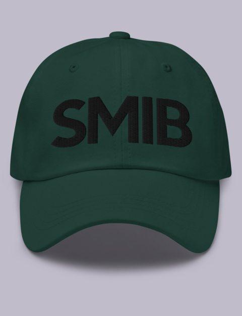 SMIB Masonic Hat Black Embroidery Embroidery SMIB masonic hat Spruce black