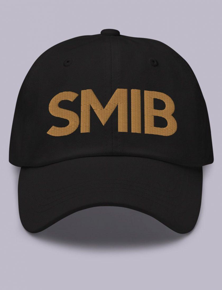 Embroidery SMIB masonic hat black