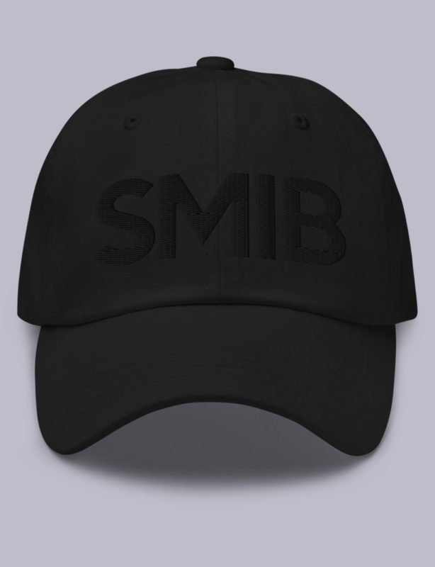 What does So Mote It Be mean? Embroidery SMIB masonic hat black black