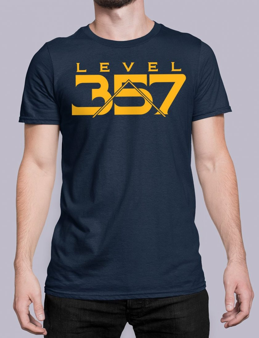Level 357 front navy shirt 17