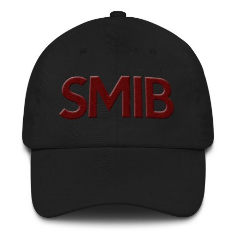 SMIB Masonic Hat 3D Puff Embroidery mockup 1c864608