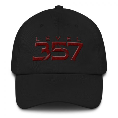Level 357 Masonic Hat 3D Puff Embroidery mockup 3dd9c4ca