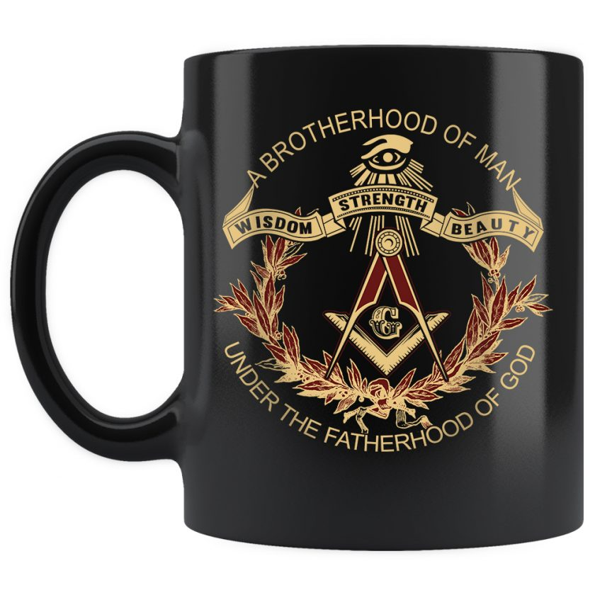 A Brotherhood Of Man Freemason mug 11oz