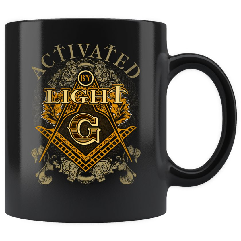 Activated by light mug