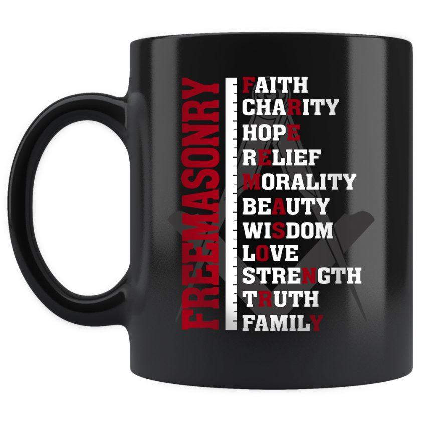 Freemasonry mug 11oz