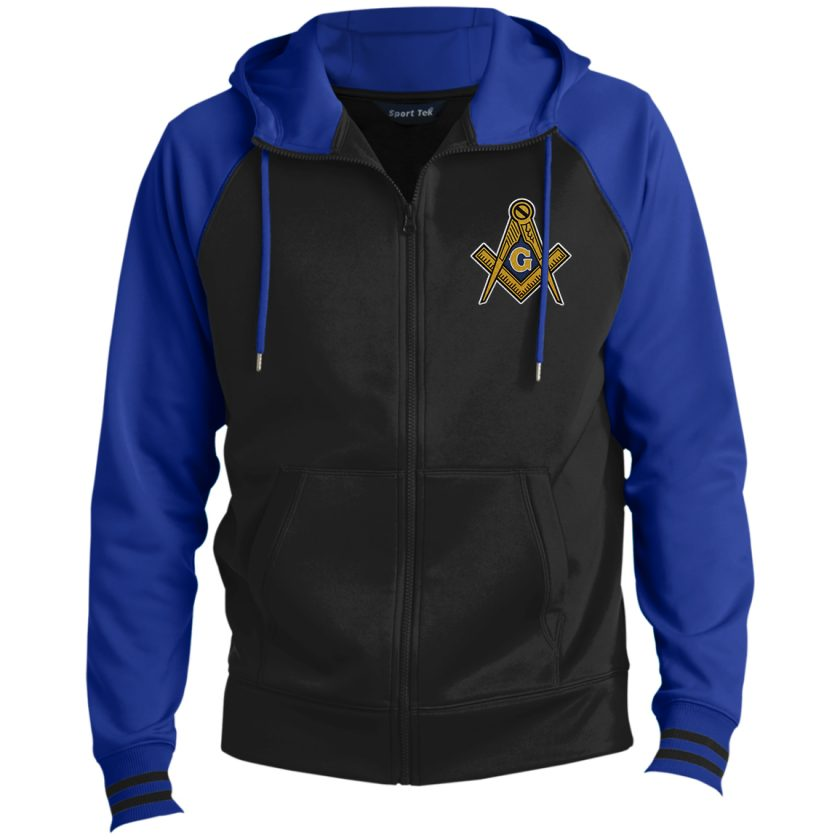 Masonic Symbol Hooded Masonic Jacket