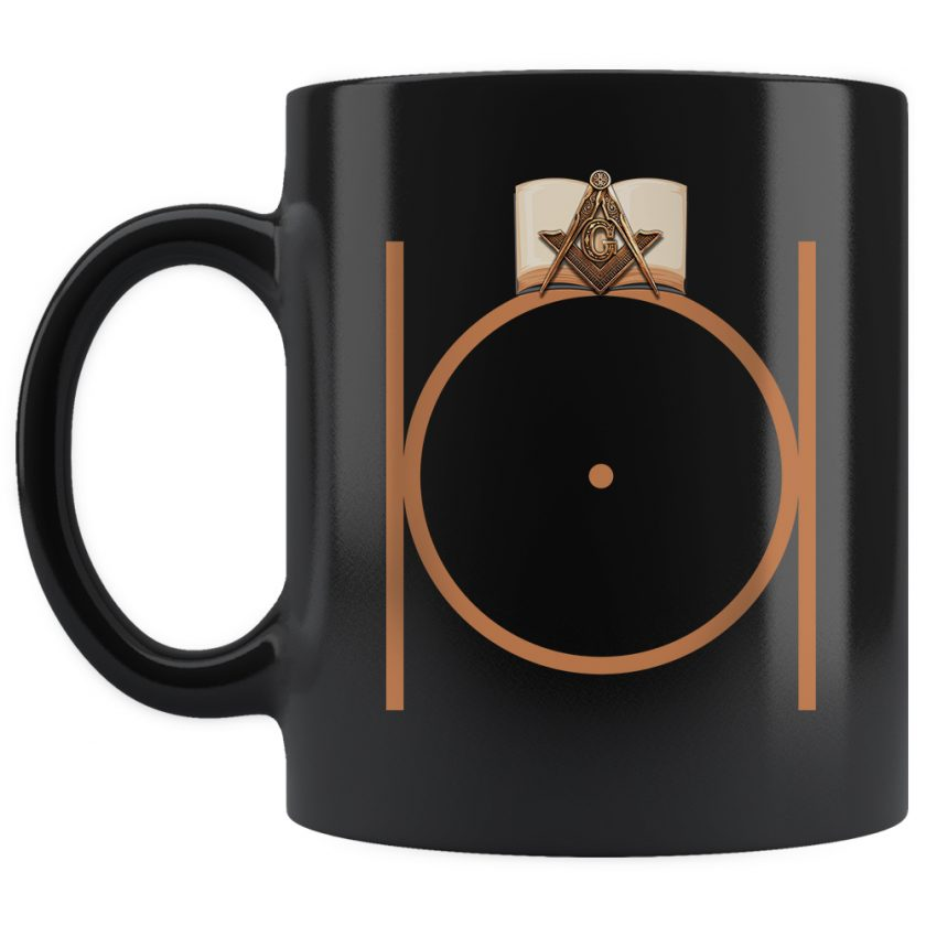 Masonic Freemason mug 11oz