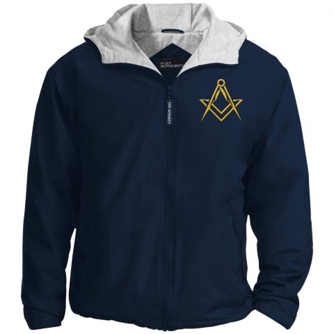 Masonic Symbol Embroidered Masonic Jacket Masonic Symbol Embroidered Jacket Navy