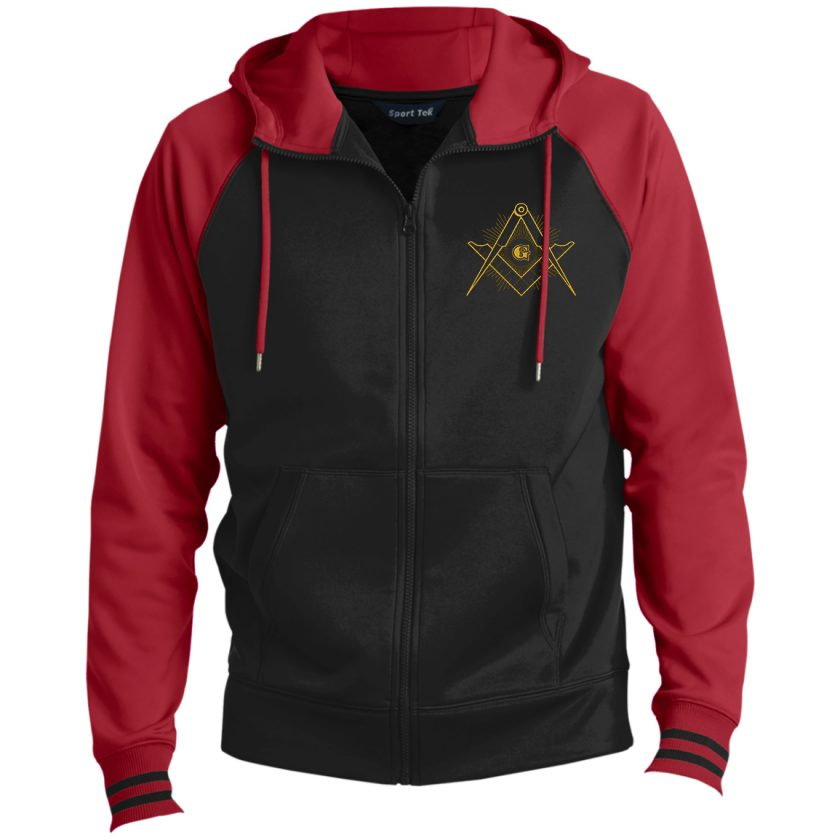 Master Mason hooded Masonic jacket