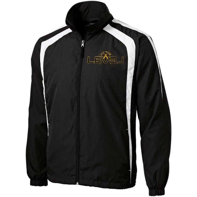 OTL black white unhooded jacket