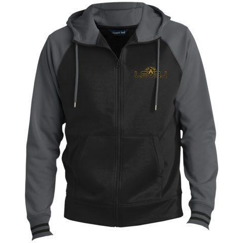 On The Level Hooded Masonic Jacket OTL grey hooded jacket