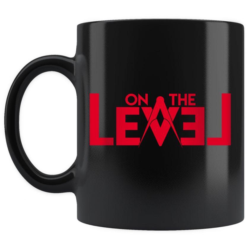 On The Level Masonic Mug 11oz