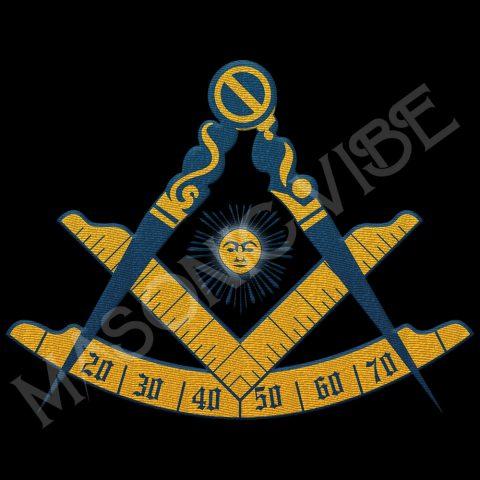 Past Master Embroidery Masonic Jacket 1 Past master black 1