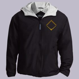 Square and Compass Embroideried Masonic Jacket