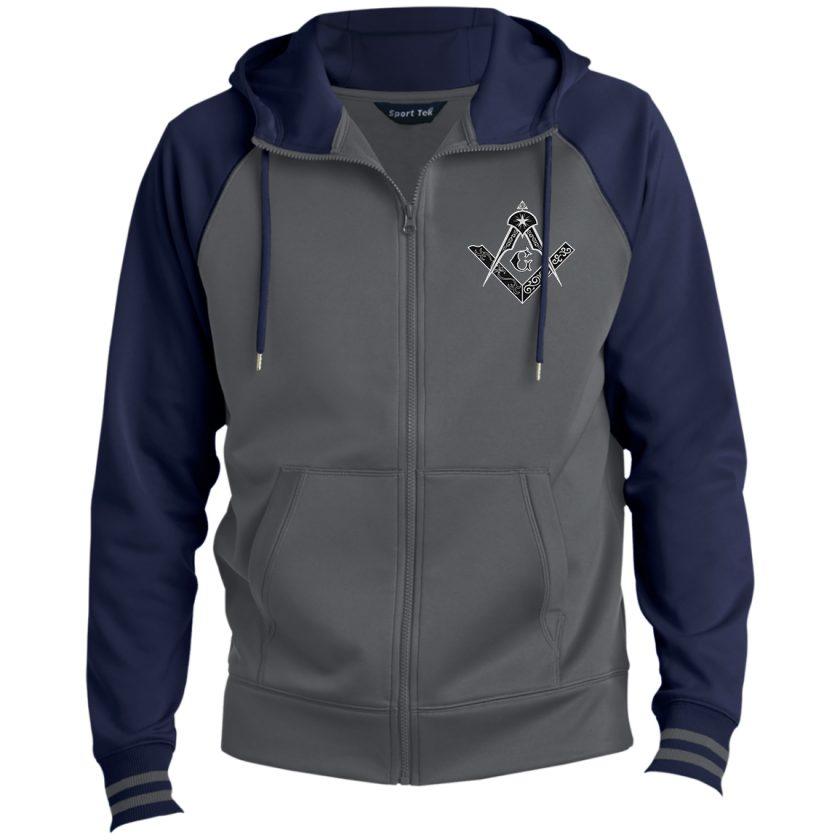 Square and Compass Hooded Freemasonry Jacket
