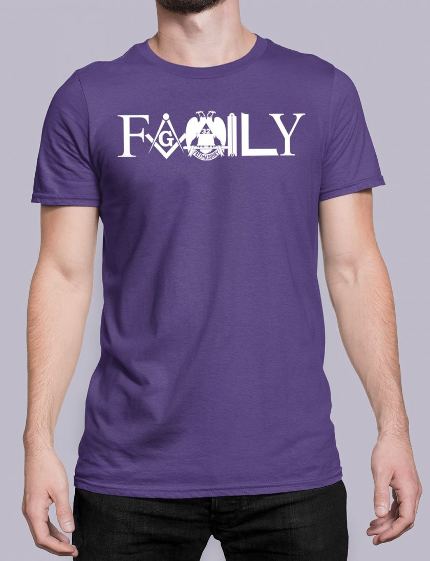 family front purple shirt 10