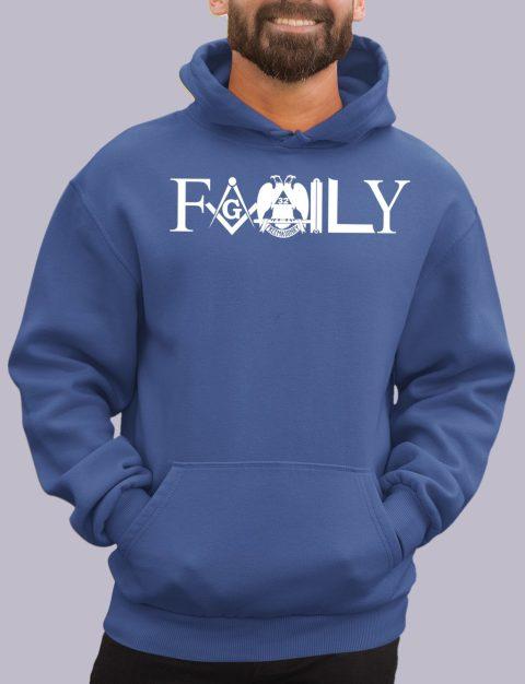 Family Masonic Masonic Hoodie family front royal hoodie