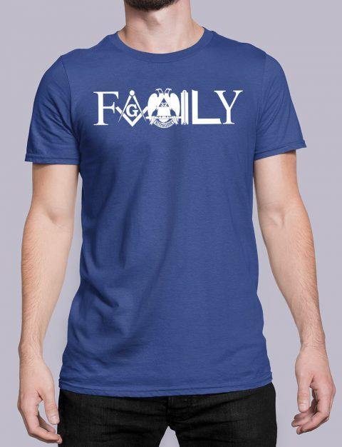 Family Freemason T-shirt family front royal shirt 10