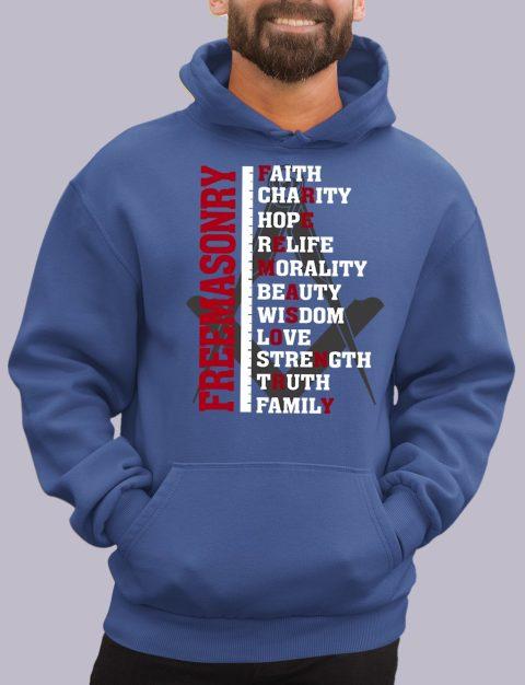 Freemasonry Masonic Hoodie freeman royal hoodie