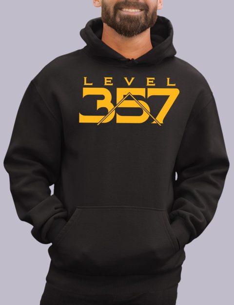 Level 357 Masonic Hoodie lv 357 black hoodie