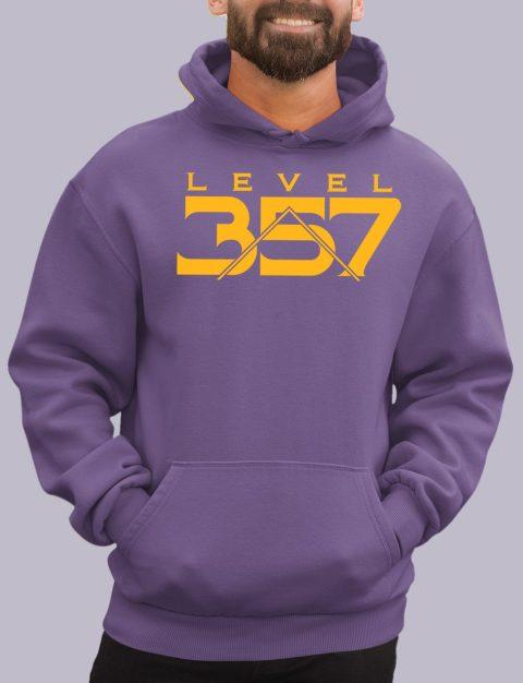 Level 357 Masonic Hoodie lv 357 purple hoodie