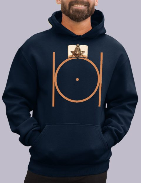 Masonic Freemason Hoodie masonic 1 navy hoodie