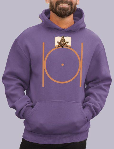 Masonic Freemason Hoodie masonic 1 purple hoodie