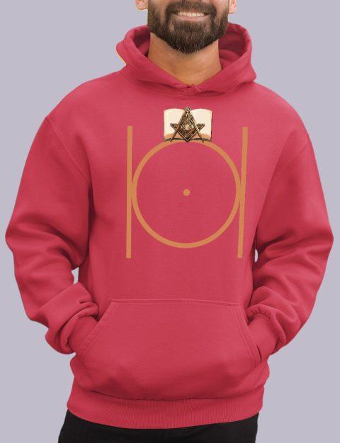 Masonic Freemason Hoodie masonic 1 red hoodie
