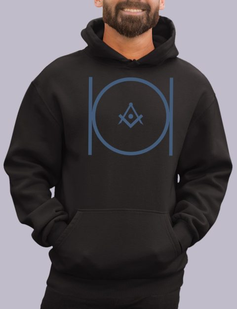 Royal Blue Masonic Hoodie masonic 2 black hoodie