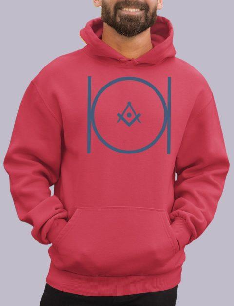 Royal Blue Masonic Hoodie masonic 2 red hoodie