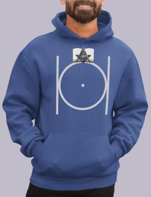 Masonic Hoodie with Bible masonic 3 royal hoodie