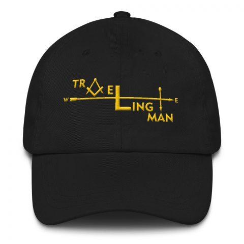 Traveling Man Masonic Embroidery Masonic Hat mockup 9b08c0ad